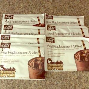 Advocare Chocolate Peanut Butter Shakes- pack of 7